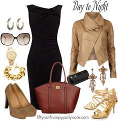 """""""Day into Night"""" by fiftynotfrumpy ❤ liked on Polyvore"""