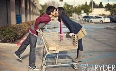 cutest photo shoot ever.  from the grocery store, to cooking together, ending with enjoying their meal