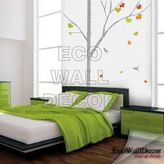 PEEL and STICK Kids Nursery Removable Vinyl Wall by EcoWallDecor, $22.00
