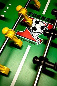 Tornado professional table soccer a.k.a. FOOSBALL!