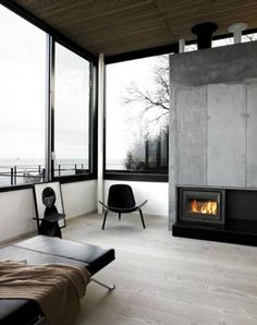 'Minimal Interior Design Inspiration' is a biweekly showcase of some of the most perfectly minimal interior design examples that we've found around the web - Interior Architecture, Interior And Exterior, Building Architecture, Kitchen Interior, Scandinavian Interior Design, Contemporary Interior, Scandinavian Style, Design Case, Interior Design Inspiration
