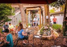 Bilderesultat for backyard restaurant