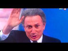 Michel Drucker (pleure) en larme apres la disparition de Johnny Hallyday