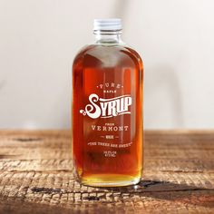 100% Pure Vermont Maple Syrup (Amber)