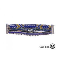Bracelet Hipanema Sailor Parcourez les mers avec ce bracelet Hipanema en vente ici : http://www.virginie-bijoux-montres.com/bracelet-hipanema-sailor.html
