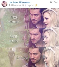 True love takes time. CaptainSwan and Charmings