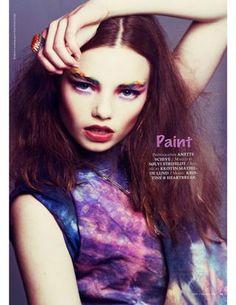 MOD MAGAZINE: Volume 1; Issue 3; Summer 2012  Photo: Anette Schive  Model: Kristine @ Heartbreak  Styling: Kristin Mathilde Lund  Makeup: Sølvi Strifeldt