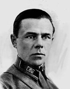 Lieutenant-General of Artillery (on photo - Lieutenant-Colonel) Alexeev Leonid Nikolaevich (1902-1988) a Soviet military leader, a participant of the Civil, the Great Patriotic (WWII in Russia) and the Soviet-Japanese (1945) wars. Commanded of the 5th Fighter Division (1942), the 248th Rifle Division (1942-1943), the 2nd Guards Artillery Division (1943-1944), the 5th Artillery Corps (1944-1945, the Assault of Koenigsberg and the Manchurian operation).