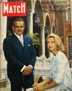 Paris Match N°548 1959 Rainier ET Grace Kelly DE Monaco Catastrop DU DC7 | eBay