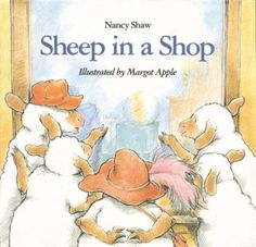 Sheep in a Shop - A Book for Teaching Young Kids about Money or introd SS unit about needs/wants and goods/services
