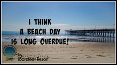 We agree! Book your next trip to the #Beach.  #MyrtleBeach #Vacation
