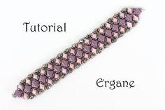 Diamond Duo Bracelet Bracelet Beading Tutorial Beaded