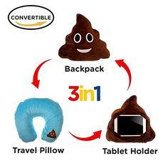 3 in 1 Poop Emoji Pillow iPad Holder Backpack Travel Neck... https://www.amazon.com/dp/B01M8OBUGU/ref=cm_sw_r_pi_dp_x_42KXybJAYJ174