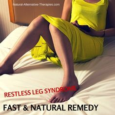 Stop Restless Leg Syndrome: The Unbeatable & Fastest Natural Remedy - Natural Alternative Therapies Natural Treatments, Natural Cures, Natural Healing, Health Tips, Health And Wellness, Health And Beauty, Health Fitness, Herbal Remedies, Home Remedies