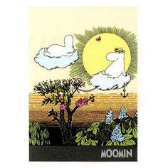 Moomin B6 letter pad (the sun)