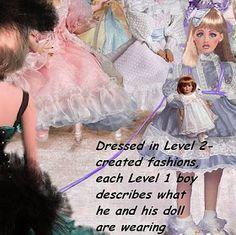 Femdom Sissy: Sissy 16 Punishment -- by Christeen Petticoated Boys, Crossdressers, Pretty Dresses, Tulle, Flower Girl Dresses, Feminine, Wedding Dresses, Art, Fashion