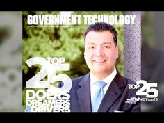 Government Technology Names 2013 Top 25 Doers, Dreamers & Drivers - YouTube