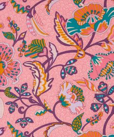 Poppyseed Dreams #LibertyPrint was created using poppies, pepper, cardamom and vanilla. All these spices have Indian roots, so the design is inspired by Indian art and textiles
