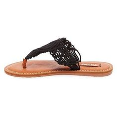 Women's Mad Love Lee Thong Sandals - Black 7, Durable