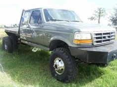 Lifted Dually Flatbed Trucks | Cost to Ship - Ford F-350 Dually Flatbed - from Punta Gorda to ...