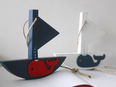 Items similar to Whale sailboat ~ Nautical nursery ~ maritime room decoration on Etsy Whale Bathroom, Whale Decor, Nautical Nursery, Nursery Bedding, Baby Boy Nurseries, Baby Shower Themes, Sailboat, Baby Toys, Decorative Items