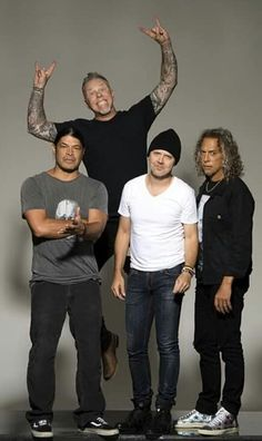 Robert Trujillo/James Hetfield/Lars Ulrich/Kirk Hammett