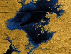 Titan images from Cassini