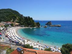 Parga beach en baai tijdens vakantie Water, Outdoor, Water Water, Outdoors, Aqua, Outdoor Games, Outdoor Life