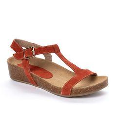 Look what I found on #zulily! Papaya Georgie Suede Sandal #zulilyfinds