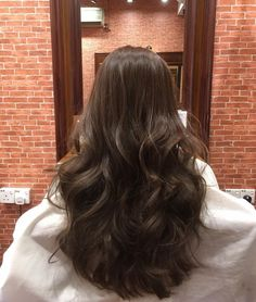 Shimmering Light Brown Highlights - 60 Hairstyles Featuring Dark Brown Hair with Highlights - The Trending Hairstyle Brown Hair Balayage, Hair Highlights, Aesthetic Hair, Brunette Hair, Hair Day, Gorgeous Hair, Pretty Hairstyles, Hair Looks, Hair Inspo