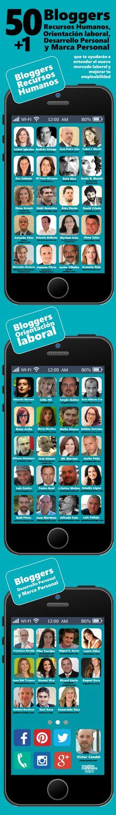 50+1 bloggers de recursos humanos orientacion laboral desarrollo personal y marca personal