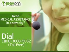 Shifted to a new city? Get valid information about doctors, hospitals and labs - only on www.jeevom.com