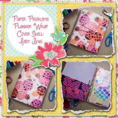 Planner wrap covers & more for Erin Condren, Plum paper, inkwell press, limelife, simplified life, arc, mambi happy planner & more. Visit my Etsy listing at https://www.etsy.com/listing/230273270/clearance-lady-bug-wrap-planner-cover