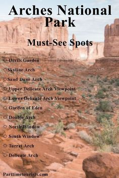 Guide to Arches National Park, must do hikes, must see spots, etc. Arizona National Parks, Arches Np, Visit Utah, Moab Utah, Travel List, Travel Guides, Summer Travel, Oh The Places You'll Go, State Parks