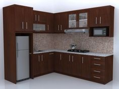 KITCHEN SET, MINIMALIS, NAULA JATI FURNITURE