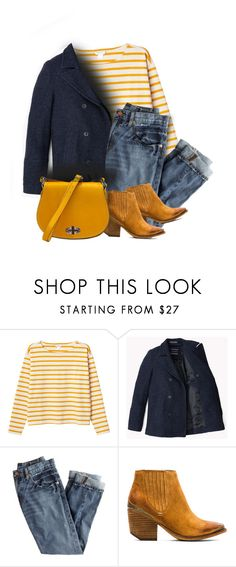 """""""Navy & Yellow"""" by seahag2903 ❤ liked on Polyvore featuring Monki, J.Crew, Jeffrey Campbell, women's clothing, women's fashion, women, female, woman, misses and juniors"""