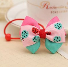 Layered Bows Hair Ties