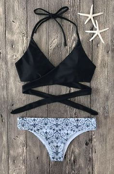 $26.99  Sexy Fashion Floral Print Bikini Set