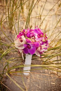 pink orchid bouquet... this will be mine