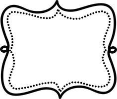 Free Printable Numbers, Printable Crafts, Printable Designs, Printables, Page Borders, Borders And Frames, Frame Border Design, Doodle Frames, Vip Card