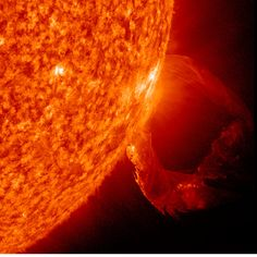 Sun's Twisting Plasma TentacleCredit: NASA/SDO/GSFCNASA's Solar Dynamics Observatory spacecraft captured this eruption from March 19, 2011 as a prominence became unstable and blasted into space with a distinct twisting motion.