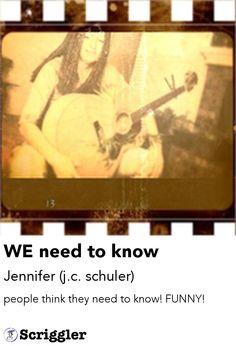 WE need to know by Jennifer (j.c. schuler) https://scriggler.com/detailPost/poetry/28110