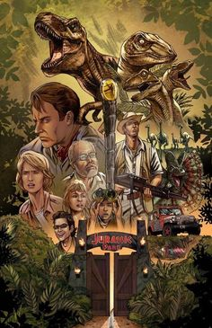 Jurassic Park by Kevin McCoy