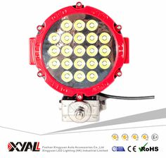 51w Manufacture waterproof IP 67 led driving fog light 17 leds for offroad suv trucks led work light