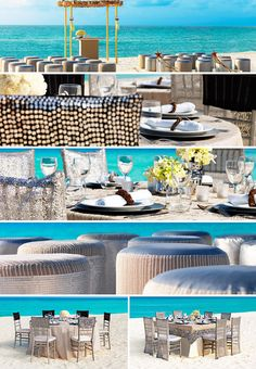 Metallic Sands Collection at Moon Palace Cancun.  Select from several wedding packages or create your own!