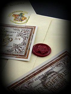 Lettera accettazione di HARRY POTTER ad Howgarts, biglietto Hogwarts Express, Biglietti Knight Bus - ideale per gli amanti di Hogwarts: Amazon.it: Casa e cucina