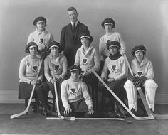 Vintage Hockey Team...