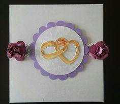 Caja de torta para matrimonio. Modelo VII. De venta en Guayaquil informes por este medio o al correo cajitasyalgomasgye@gmail.com