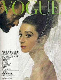 of course audrey would get a parisian vogue cover