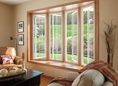 """Add: """"create the view of my dreams"""" to your spring home improvement list. Installing stylish, energy-efficient windows from the Pella Impervia fiberglass collection adds natural light and style to your home. #remodel"""